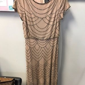 Adrianna Papell Beaded Gown 4